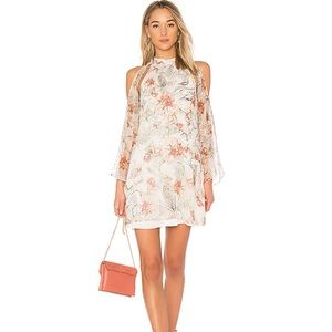 Haute Hippie Silk Paradise Mini Dress
